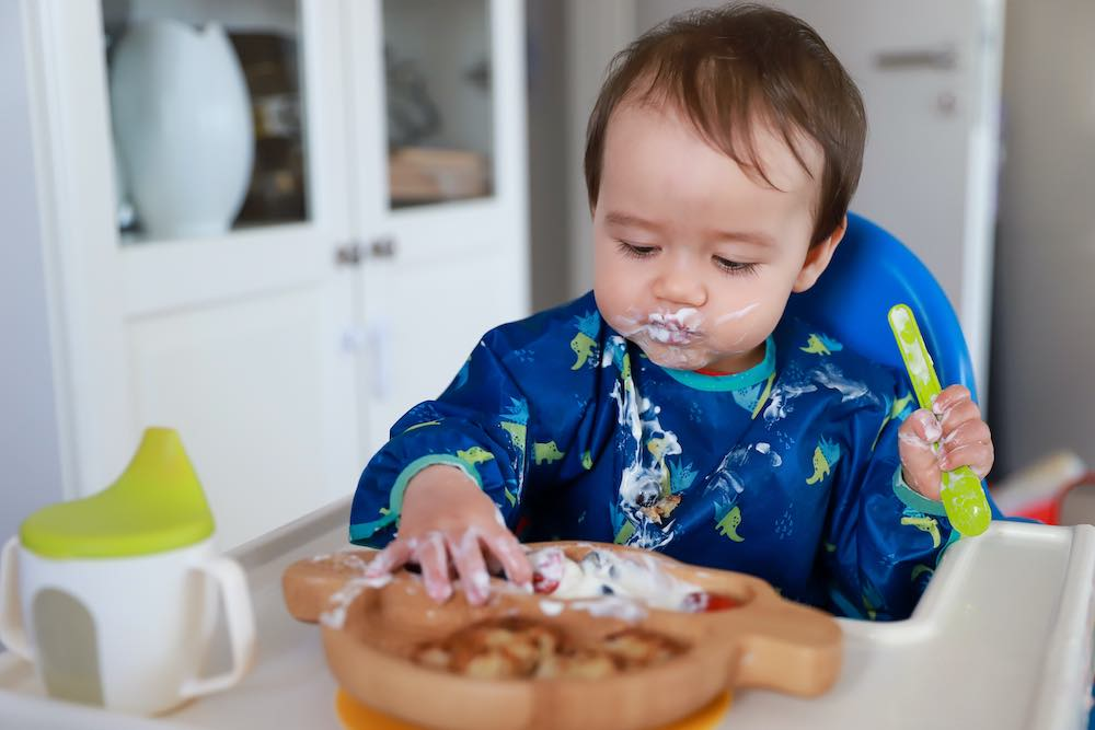 Parents guide to choking or gagging in babies and toddlers